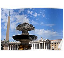 Vatican City, Rome, in all of its glory Poster