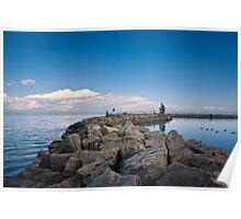 Jordan Harbour Breakwater Poster