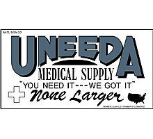 Uneeda Medical Supply (Return of the Living Dead) Photographic Print