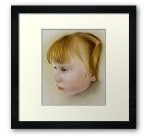 Lila Framed Print