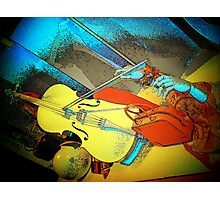 Color, Art & Music... Photographic Print
