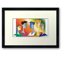 Hen Party Framed Print