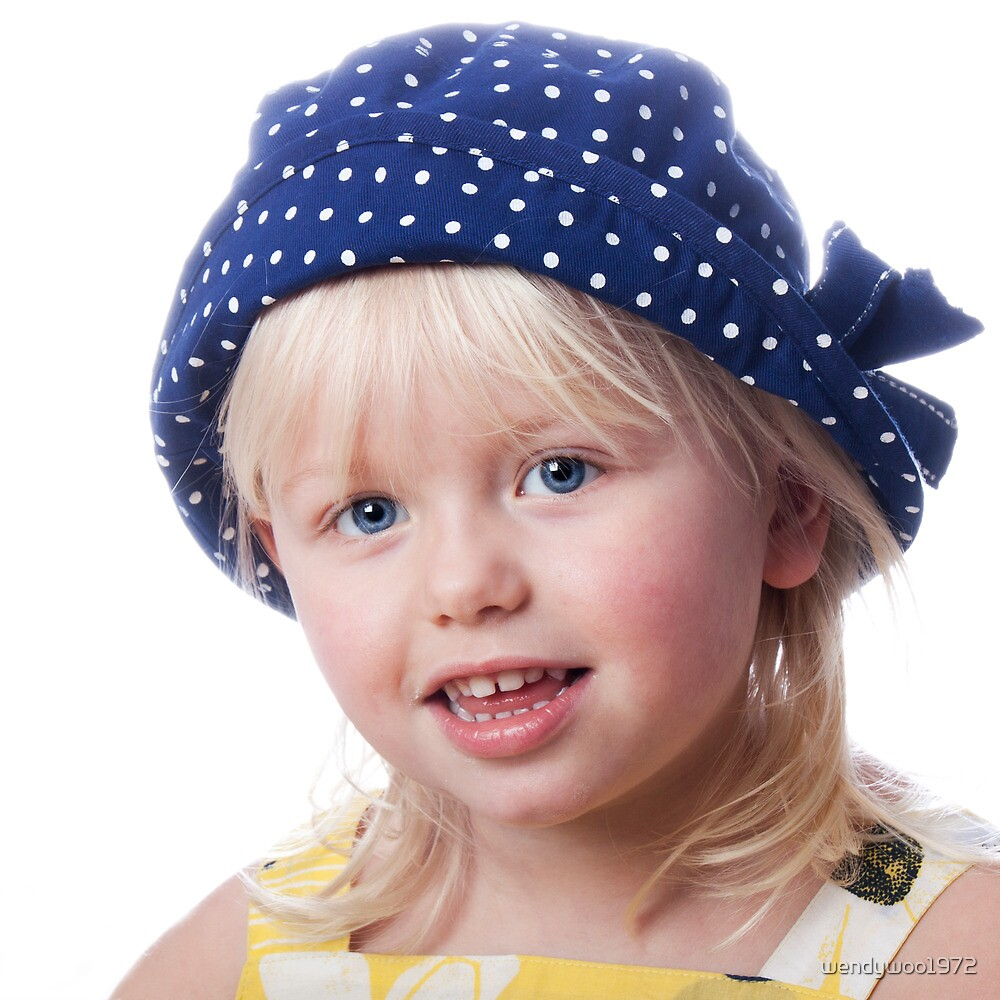 In my blue spotty hat by wendywoo1972