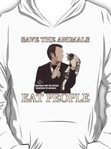 SAVE THE ANIMALS, EAT PEOPLE T-Shirt