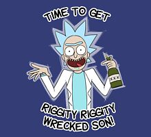 Time to get riggity riggity wrecked son T-Shirt