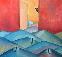 "Oil Painting - ""Stalker"" Poster 2000 by Igor Pozdnyakov"