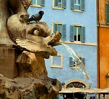 Pantheon Fountain - Rome by Daniel Warner-Meanwell