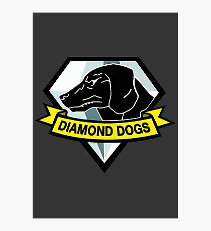 Diamond Dogs Photographic Print