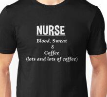 Nurse Coffee Lover Quote Unisex T-Shirt