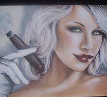 Smokin' Hot Emily Scott by ellflutterby