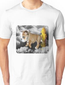 ☀ ツ UP IN THE CLOUDS WHAT DO I SEE A FIRE HYDRANT JUST WAITING FOR ME (SENDING EMAIL) TEE SHIRT LOL ☀ ツ Unisex T-Shirt