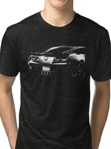 chevrolet corvette c7 Tri-blend T-Shirt