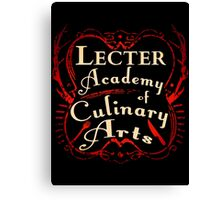 Lecter Academy of Culinary Arts. Canvas Print