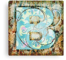 The Letter B.2 Canvas Print