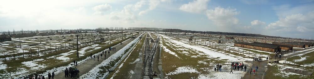 Auschwitz Berkenau Panorama by Daniel Warner-Meanwell