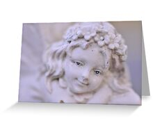 Fairy Face, As Is Greeting Card