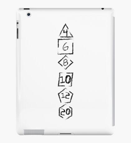 RPG Dices iPad Case/Skin