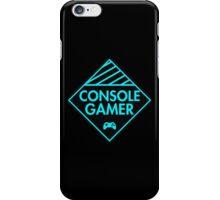 Console Gamer (Blue) iPhone Case/Skin
