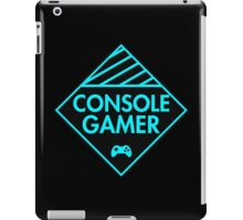 Console Gamer (Blue) iPad Case/Skin