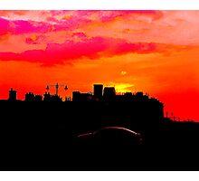 Sundown Drive-by Photographic Print