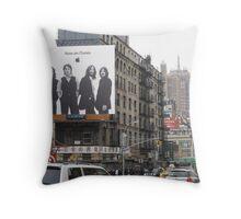 Canal Street Throw Pillow