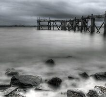 Old Aberdour Pier by Don Alexander Lumsden (Echo7)