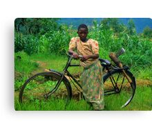 Returning From The Fields Canvas Print