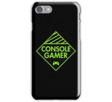 Console Gamer (Green) iPhone Case/Skin