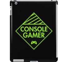 Console Gamer (Green) iPad Case/Skin