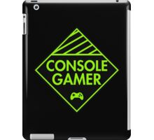 Console Gamer (Green) iPad Case/Skin