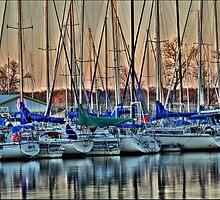 Boats At Big Daddy's by Scott Lebredo