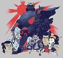 Samurai Wars: Empire Strikes by KindaCreative