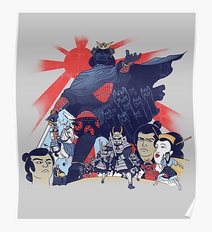 Samurai Wars: Empire Strikes Poster