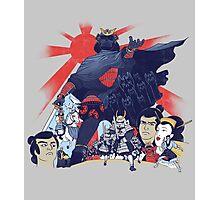 Samurai Wars: Empire Strikes Photographic Print