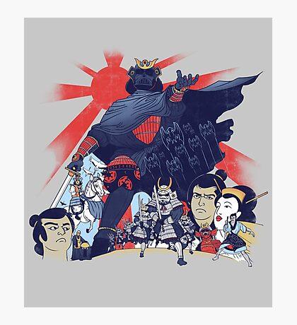 Samurai Wars: Empire Strikes Photographic Print