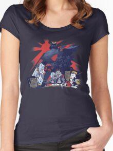 Samurai Wars: Empire Strikes Women's Fitted Scoop T-Shirt