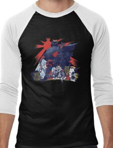 Samurai Wars: Empire Strikes Men's Baseball ¾ T-Shirt