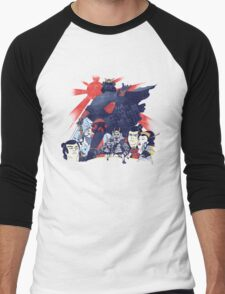 Samurai Wars: Empire Strikes Men's Baseball ¾ T-Shirt