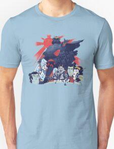 Samurai Wars: Empire Strikes Unisex T-Shirt