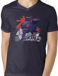 Samurai Wars: Empire Strikes Mens V-Neck T-Shirt