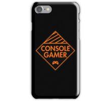 Console Gamer (Orange) iPhone Case/Skin
