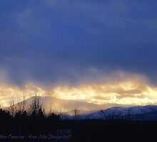 Storm Over Blacktail Mountain by rocamiadesign