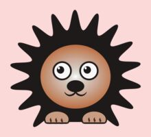Little Cute Hedgehog One Piece - Long Sleeve