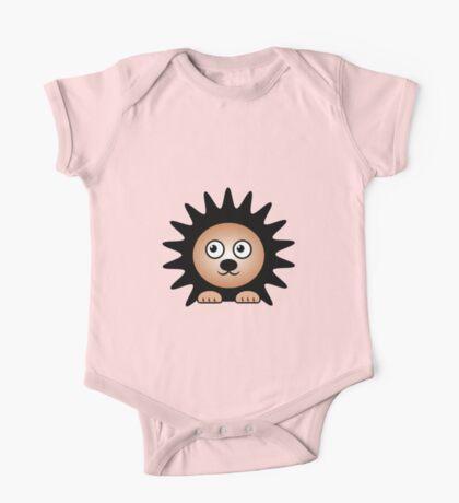 Little Cute Hedgehog One Piece - Short Sleeve