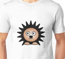 Little Cute Hedgehog Unisex T-Shirt
