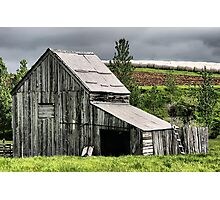 The Hay Shed Photographic Print