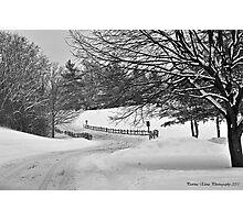 Walking in a Winter Wonderland Photographic Print