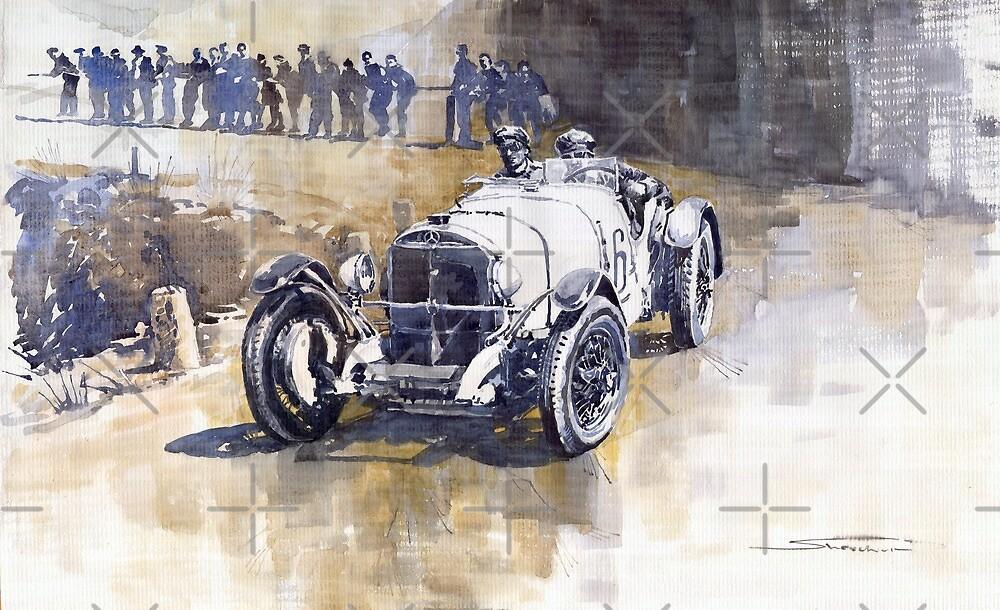 Mercedes Benz SSK 1930 Rudolf Caracciola by Yuriy Shevchuk