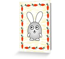 Little Cute Bunny Greeting Card