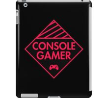 Console Gamer (Red-Pink) iPad Case/Skin